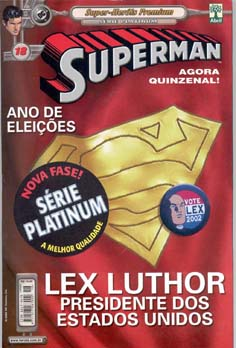 SUPERMAN PREMIUM n°18 - EDITORA ABRIL